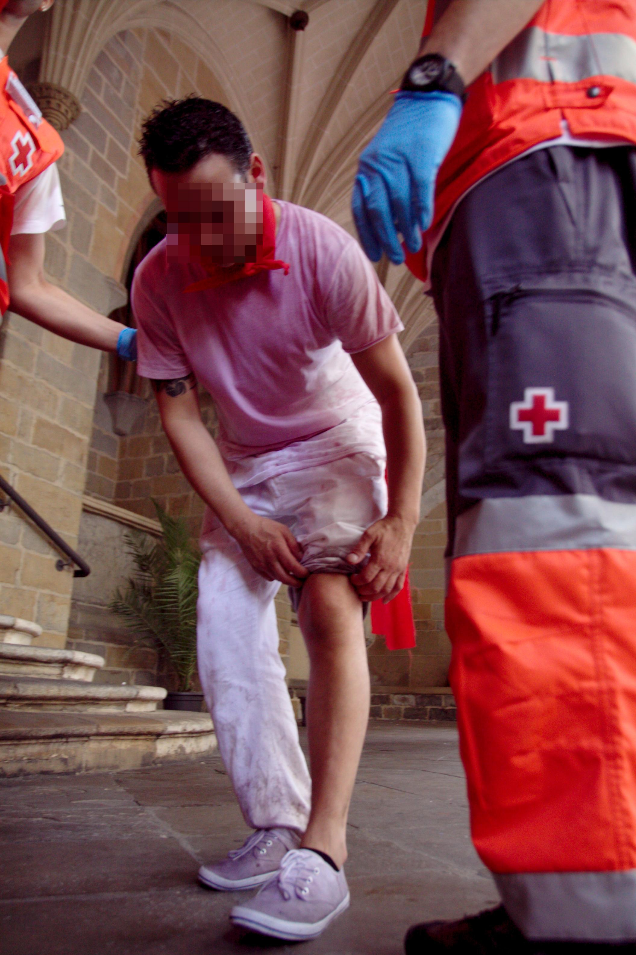 Atenciones día 6 Cruz Roja