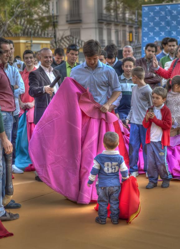 Clase magistral El Juli. Foto www.eljuli.com
