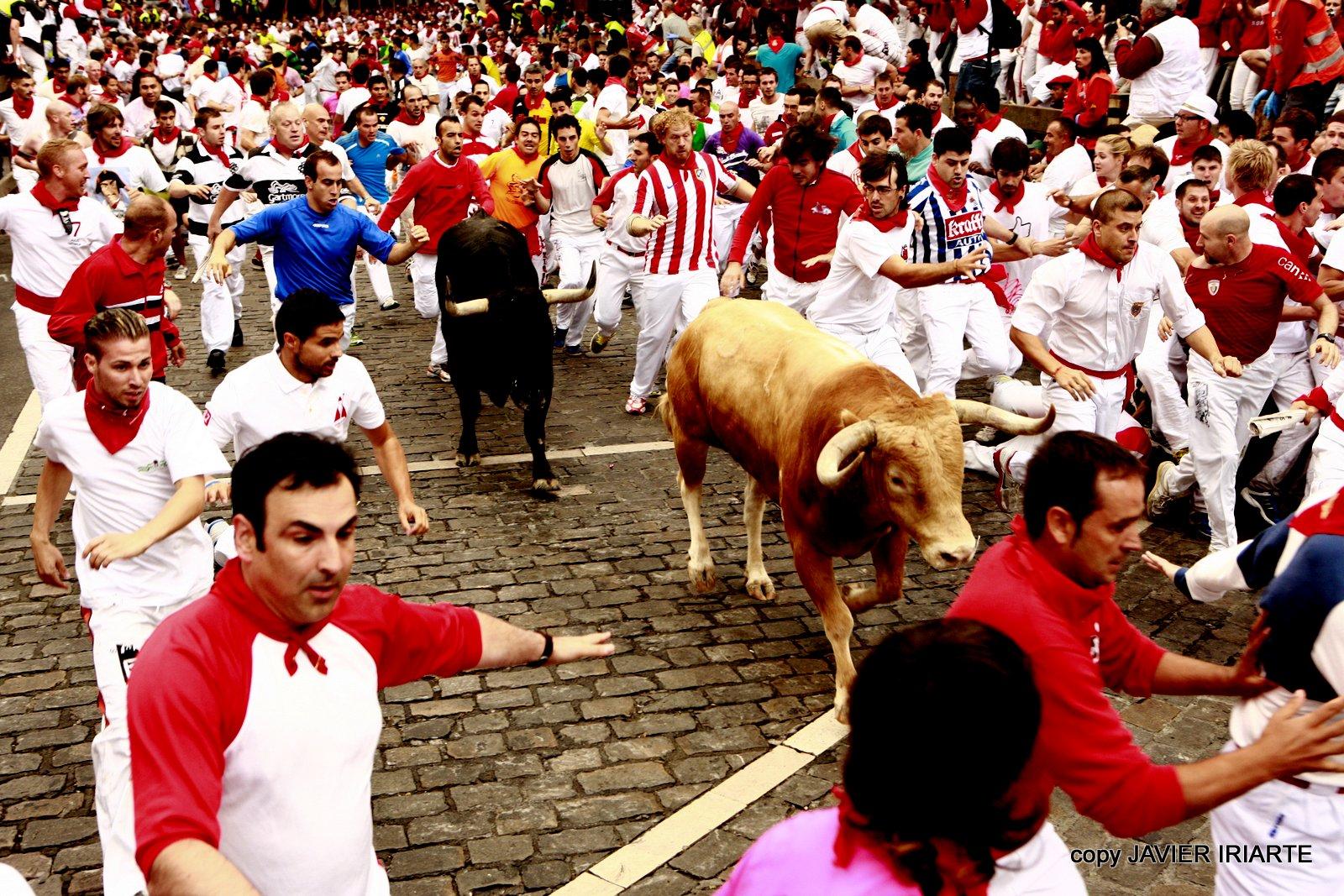 Encierro 07/07/12. Javier Iriarte