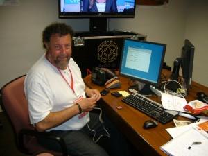 Javier Iriarte trabajando en la OIP_Foto OIP