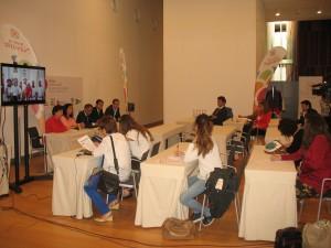 Presentación de la Oficina Internacional de Prensa en Baluarte